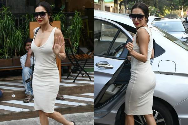 malaika arora flaunts her killer in bodycon dress