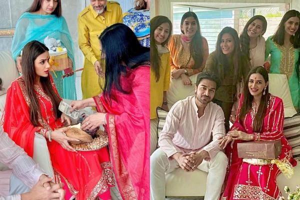 meri aashiqui tumse hi actress smriti khanna godh bharai ceremony pictures