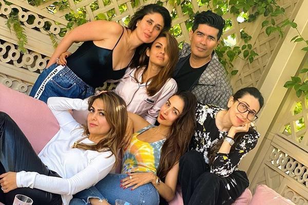 kareena kapoor khan malaika arora party with manish malhotra