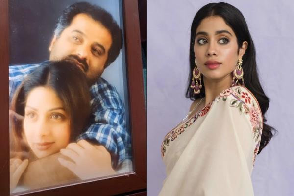 janhvi kapoor shares frame of boney kapoor and sridevi
