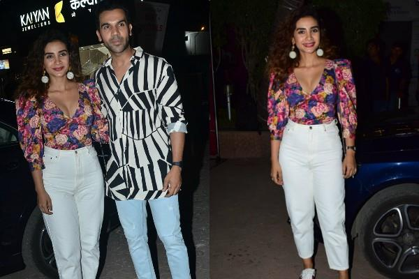 rajkummar rao attend wrap up party of family man 2 with girlfriend patralekha
