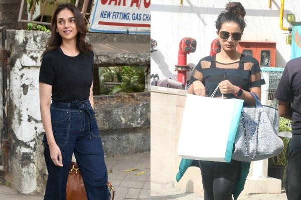 patralekha and aditi rao hydari spotted at bandra