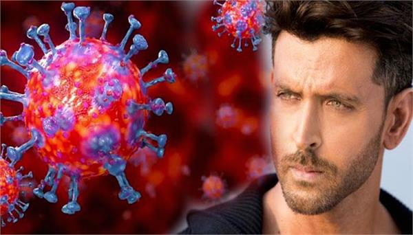 hrithik roshan shares video on coronavirus