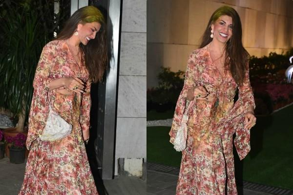 jacqueline celebrates holi at isha ambani house