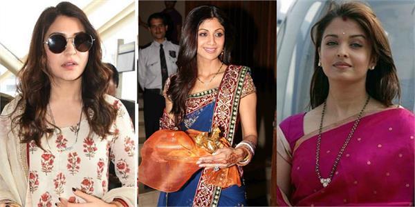 sonam shilpa and aishwarya wear expensive mangalsutra