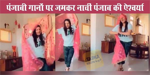 himanshi khurana dance video viral on internet
