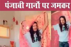 himanshi khurana dance video viral on internet
