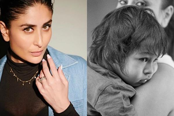 kareena kapoor shares son taimur first picture on her instagram