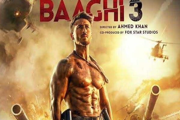 baaghi 3 first day box office collection
