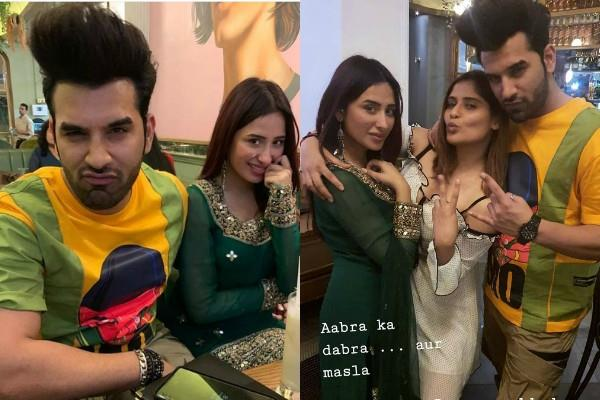 paras chhabra mahira sharma and arti singh party pictures