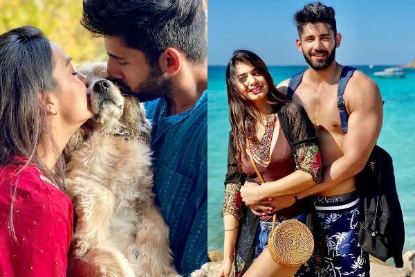 divya agarwal and varun sood romantic pictures viral
