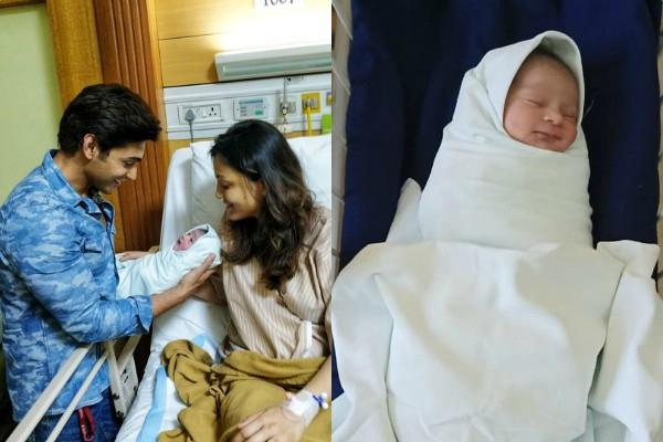 balika vadhu fame ruslaan mumtaz blessed with a baby boy