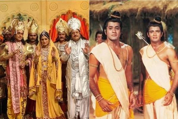 prasar bharati telecast ramanand sagar ramayana and mahabharat during lock down