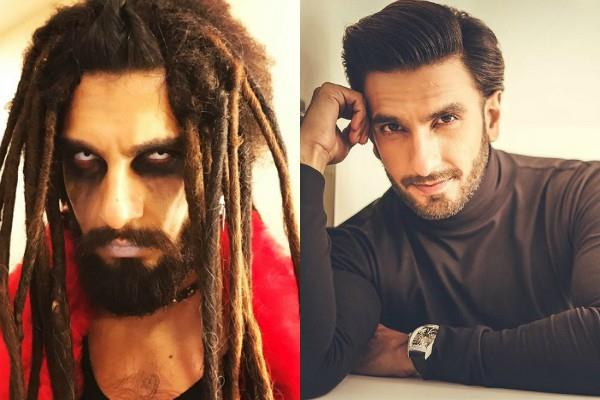 ranveer singh share scary picture amidst corona lockdown
