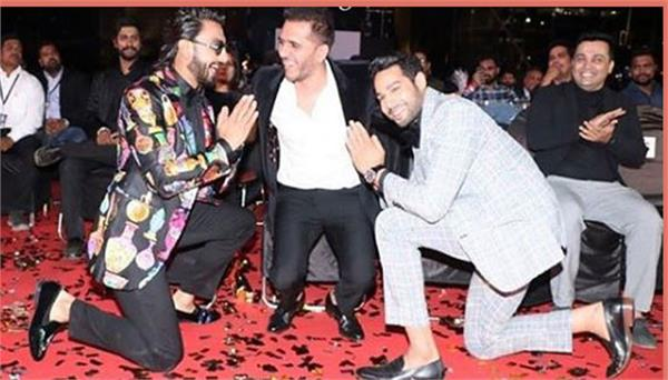 ranveer singh and siddhant feel blessed for collaborating with ritesh sidhwani