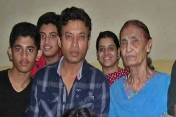irrfan khan mother passes away actor did not attend funeral due to lockdown
