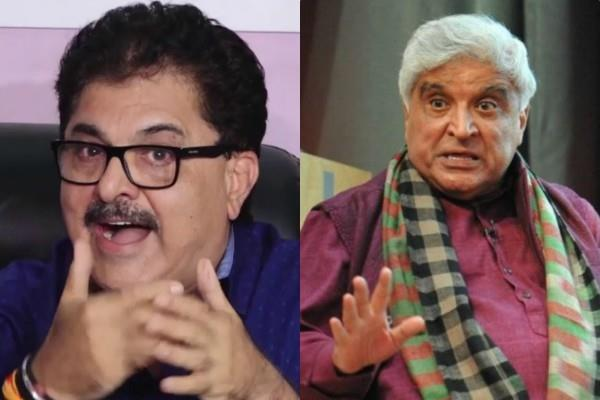 javed akhtar and ashoke pandit war of words on twitter