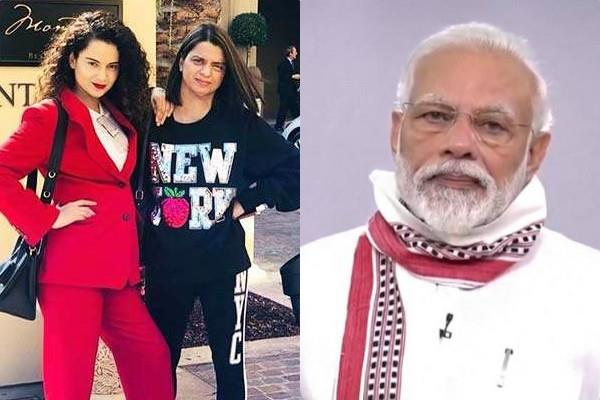 rangoli chandel praises pm narendra modi to extended lockdown