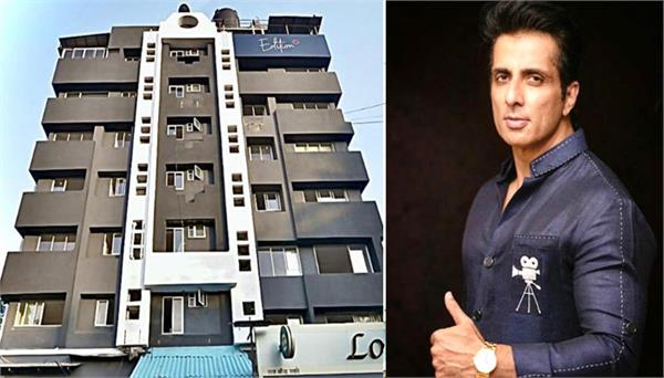 sonu sood hotel for medical staff stay involved in coronavirus treatment