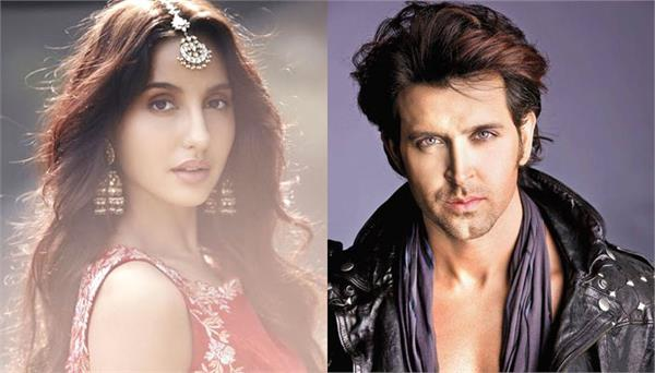 nora fatehi wants to dance with hrithik roshan