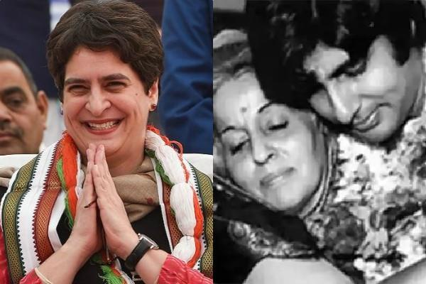 priyanka gandhi remember amitabh bachchan mother on hanuman jayanti
