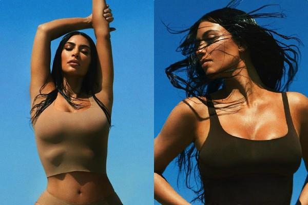 kim kardashian flaunts killer figure these viral pictures