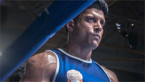 farhan akhtar doing boxing in home during lockdown for film toofan