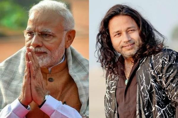 pm narendra modi praises kailash kher and other 18 artists for sangeet setu