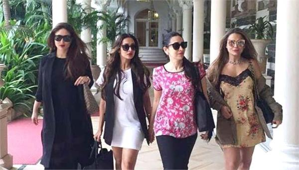 kareena kapoor khan and girls gang waiting to watch four more shots please