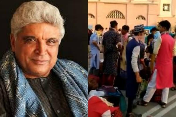 rss distributed food packets among the muslim javed akhtar share video
