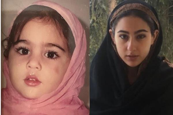 sara ali khan wishes eid mubarak to fans shares her childhood pictures