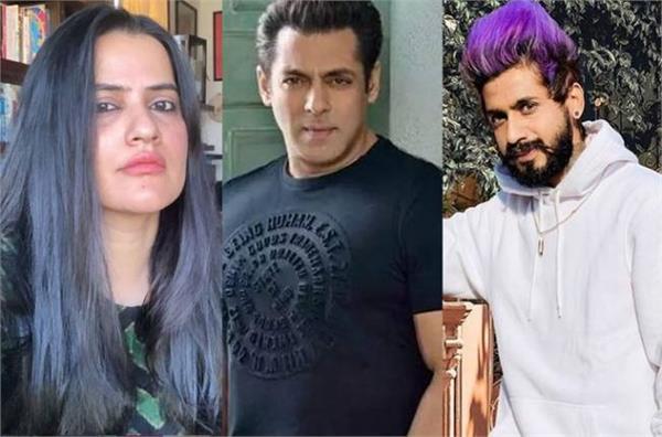 singer sona mohpatra drag salman khan name in faizal siddiqui tiktok controversy