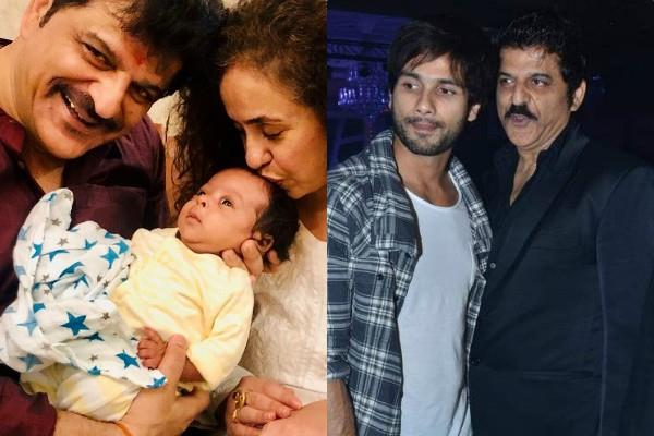 shahid kapoor step father share first picture of new born baby vanraj