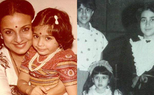 kajol unseen throwback pictures with family