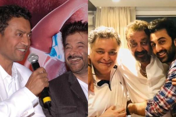 anil kapoor sanjay dutt emotional post for irrfan khan and rishi kapoor