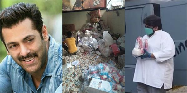 salman khan distribute food eid kits to 5000 families