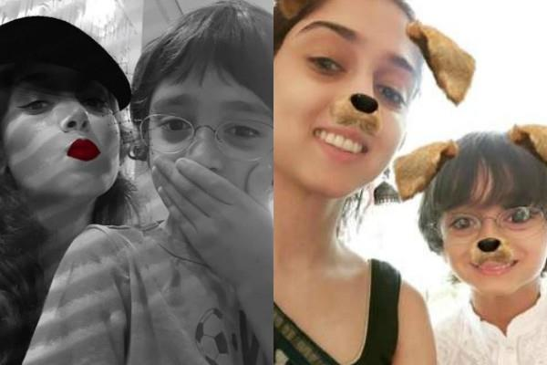aamir khan daughter ira khan share pictures with step brother azad khan