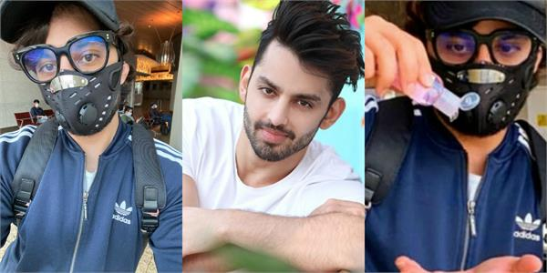 himansh kohli flies from mumbai to delhi as domestic flights