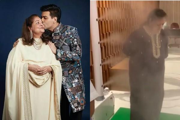 two corona positive case in house karan mother goes through sanitization process