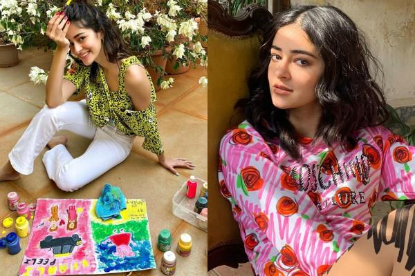 ananya panday shares unofficial first look of khaali peeli