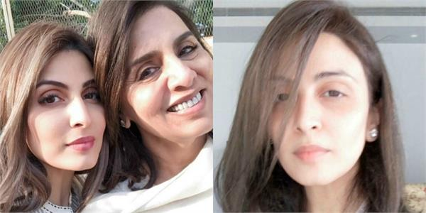 neetu kapoor become hair stylist for daughter riddhima kapoor sahni