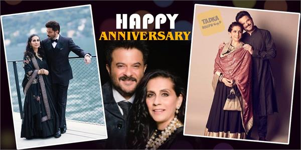 anil kapoor shares his love story on anniversary day