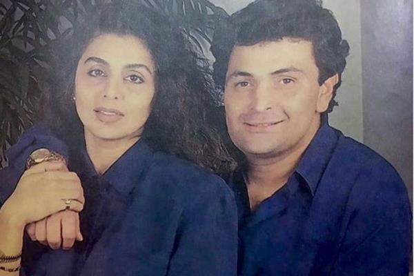 rishi kapoor one month death anniversary wife neetu share throwback photo
