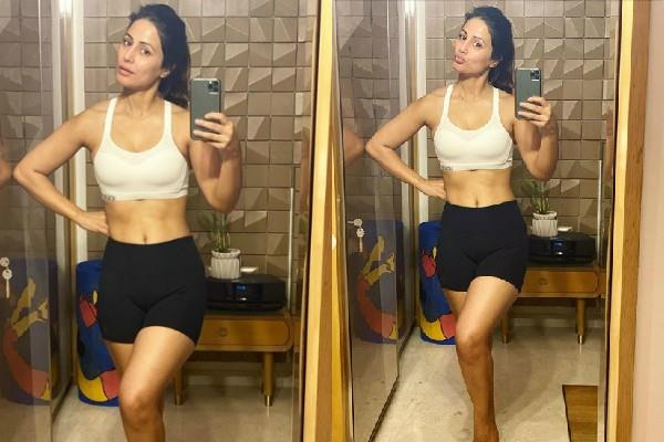 hina khan flaunts her toned body in her latest pictures
