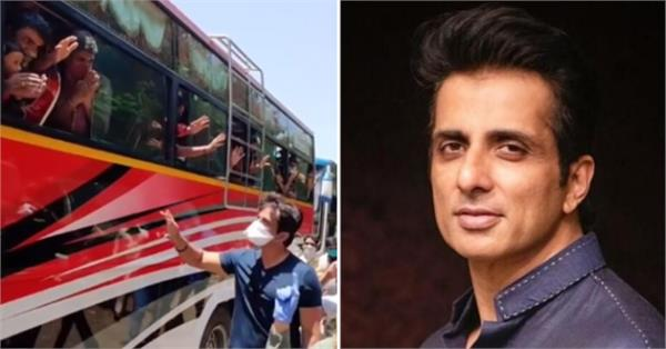 sonu sood helping up migrant workers and congress attacks yogi government