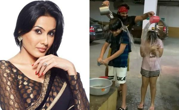 kamya punjabi trolled for wasting water