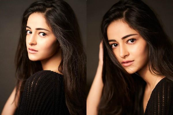 ananya panday shares her first photoshoot photos