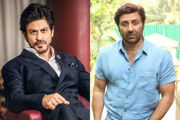 shahrukh handed over the rights of the film to sunny deol