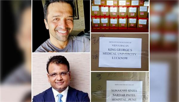 atul kasbekar manish mundra provide help to corona frontline workers