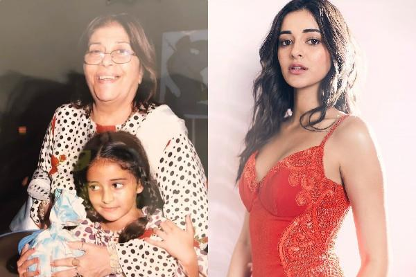 ananya panday wishes her rockstar daadi with throwback pictures